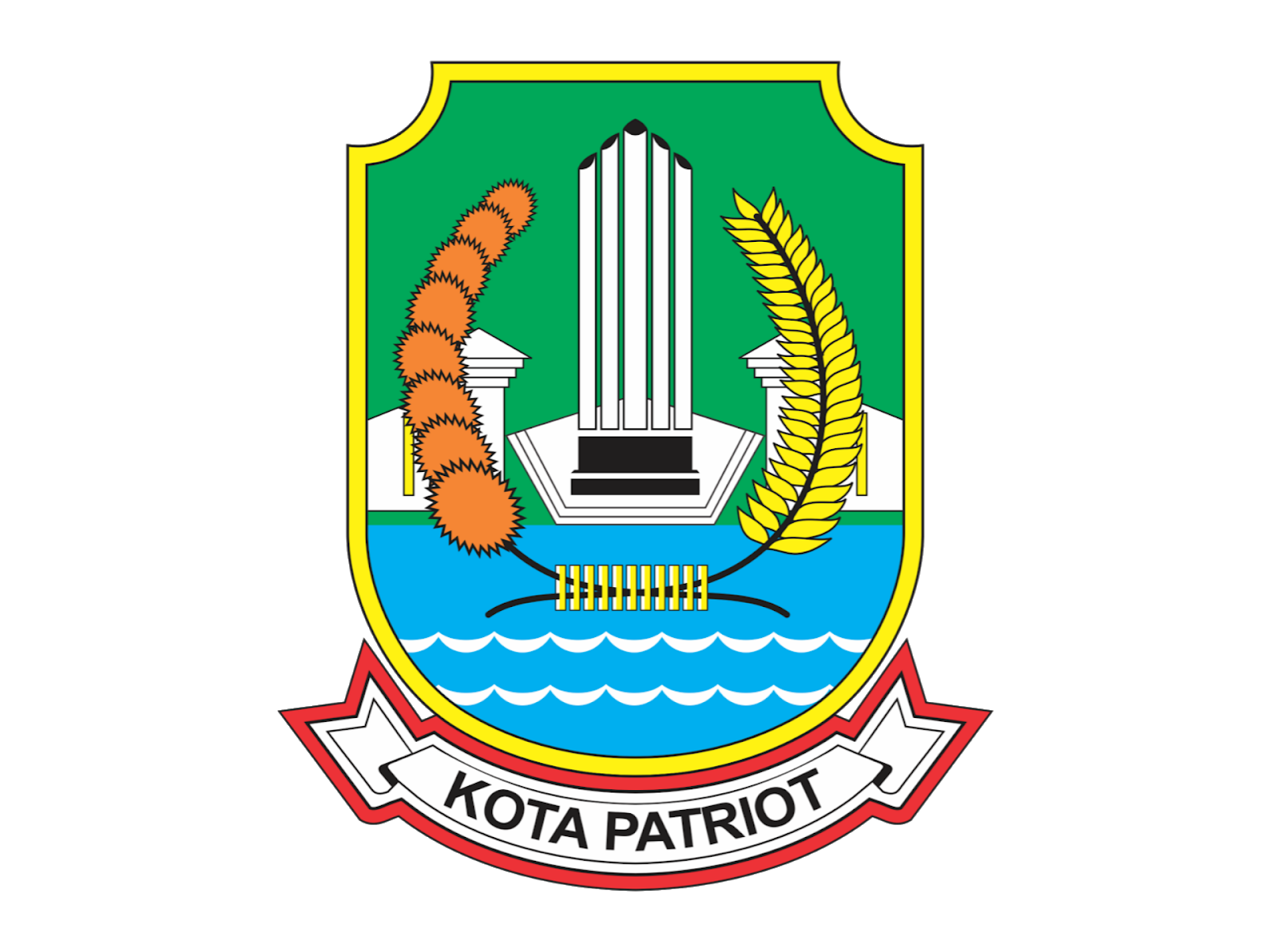 Logo Kota Bekasi Format PNG