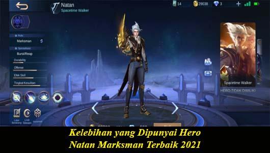 Kelebihan yang Dipunyai Hero Natan Marksman Terbaik 2021