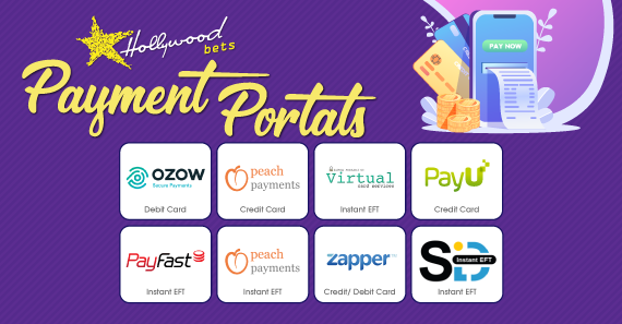 Payment Portals: Depositing into your Hollywoodbets Account
