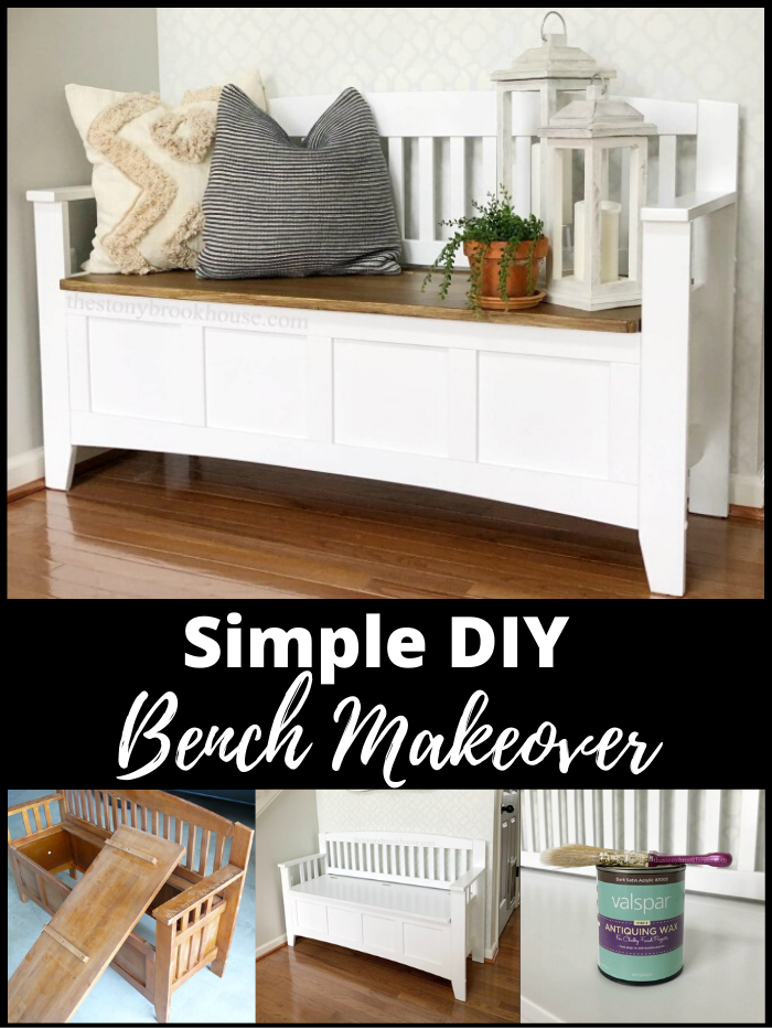 Simple DIY Bench Makeover