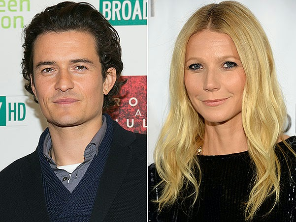 Gwyneth Paltrow and Orlando Bloom