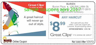 Great Clips coupons april