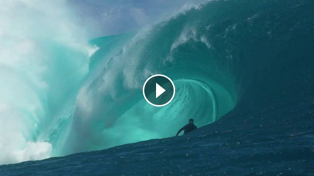 Big Tahitian Pits With Kerby Brown