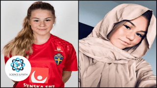 Talented female goalkeeper, attacked by 'fans' for converting to Islam