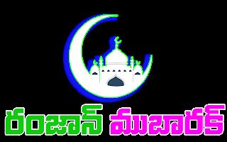Ramzan Mubarak Telugu Whatsapp stickers Transparent PNG moon mosque