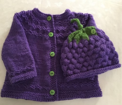 Grapes Sweater - Free Pattern