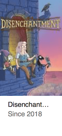 Best TV Shows Disenchantment