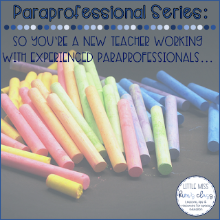 Working with Special Education Paraprofessionals