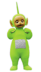 teletubbies dipsy cartoon characters hq lee productions vs