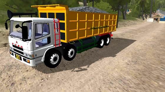 Mod Dump Truck Fuso Trinton