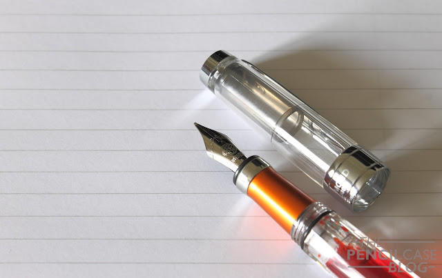 TWSBI Diamond 580Al Lava orange fountain pen review