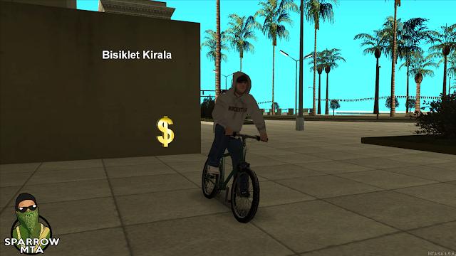 MTA SA Bisiklet Kiralama Scripti