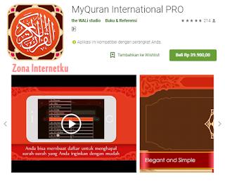 MyQur'an International PRO