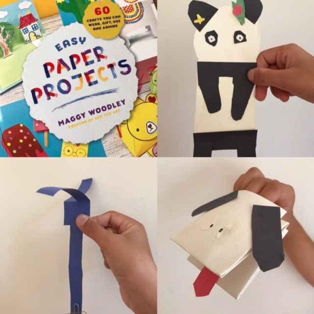 Easy Paper Projects by Maggy Woodley - selection of crafts