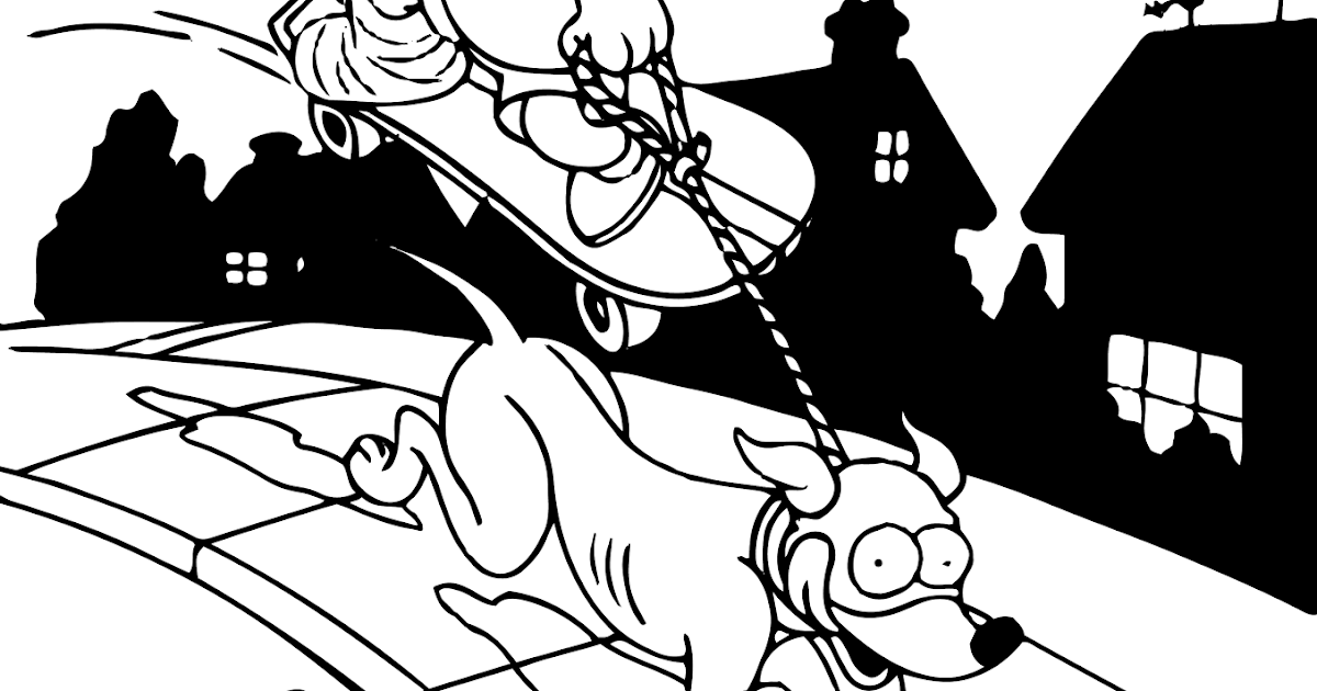 bartman simpsons coloring pages - photo#6