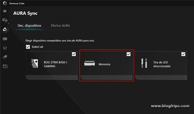 AURA Sync | Armoury Crate