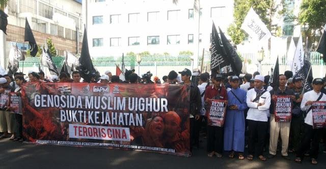 Menindas Muslim Uighur, Kedubes China Bakal Dikepung dari Berbagai Penjuru