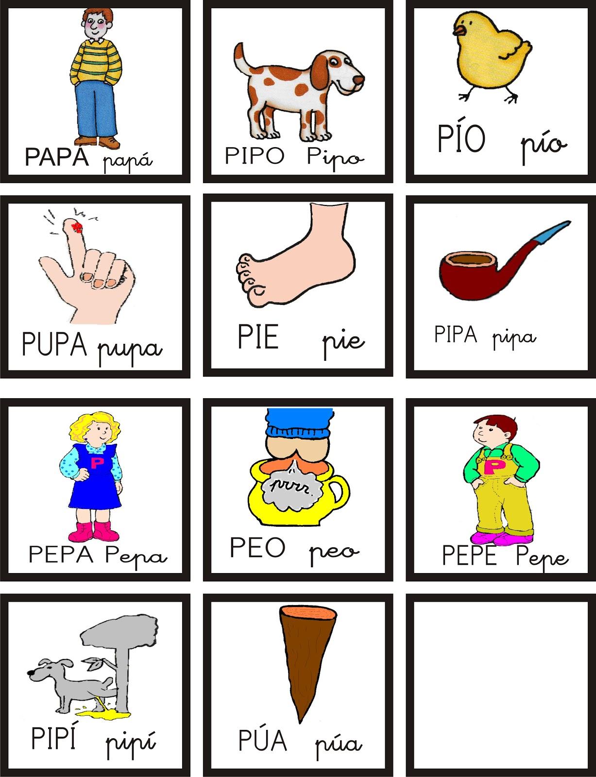 Palabras que empiezan con la letra p for Oraciones con la palabra beta