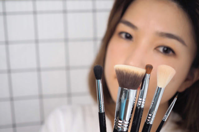 F80 AIR FLAT KABUKI Sigma beauty brush