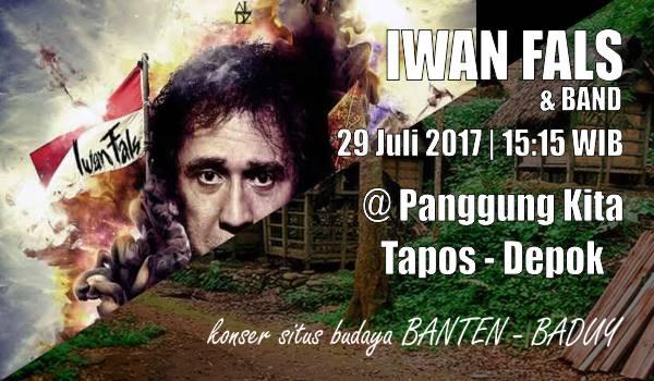 konser Iwan Fals Depok 29 Juli 2017