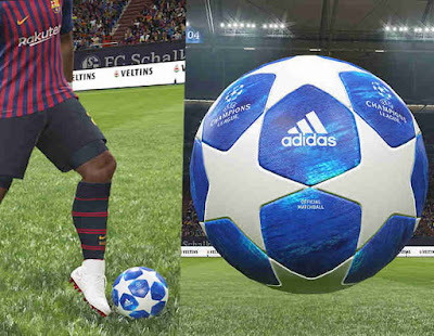 PES 2019 Official Ball UEFA Champions League 2019 by Hawke