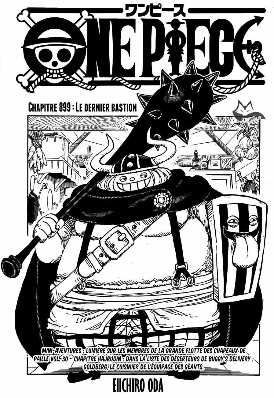 One Piece,Scan 899 | One Piece Scan En Ligne