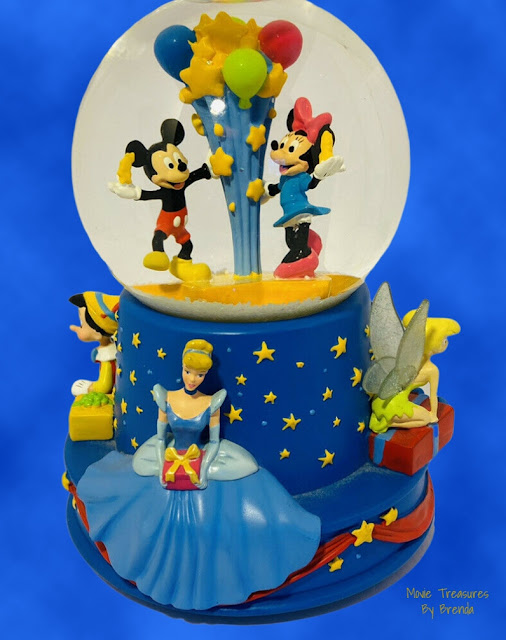 A fabulous gift idea would be one of Disney's Limited Edition snow globes!