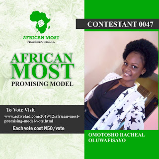 African Most Promising Model (Vote)