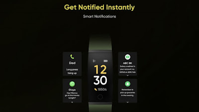 RealMe Band Notifications