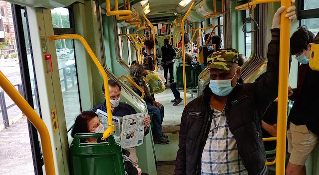 La prima settimana della Fase 2 del trasporto pubblico
