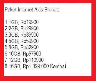 Di zaman era digital yang banyak fungsi internet masih banyak pengguna internet yang belu cara mengaktifkan paket Internet Axis Bronet kuota 16Gb terbaru 2020