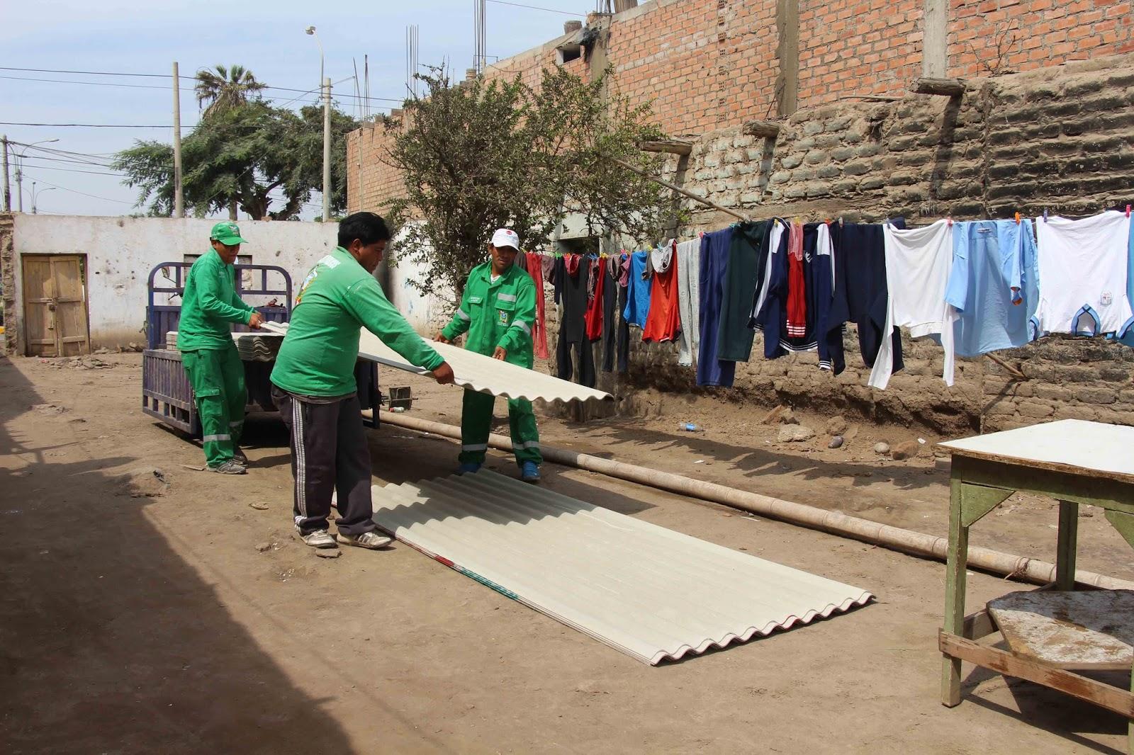 Portal informativo santa mar a humildes familias reciben - Materiales para casas prefabricadas ...