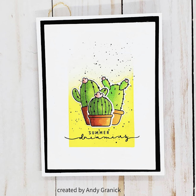 Sunny Studio Stamps: Looking Sharp Customer Card by Andrew Granick