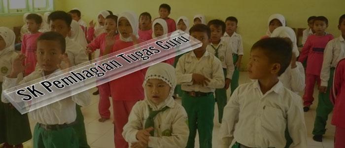 Download Contoh SK Pembagian Tugas Guru
