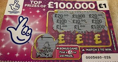 £1 Pink Scratchcard
