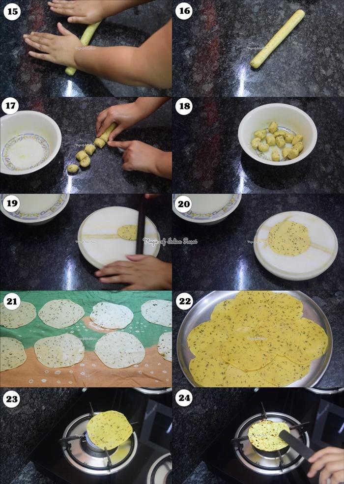 Urad Dal Papad - Sindhi Papad Recipe - उड़द दाल - सिंधी पापड़ रेसिपी - Priya R - Magic of Indian Rasoi