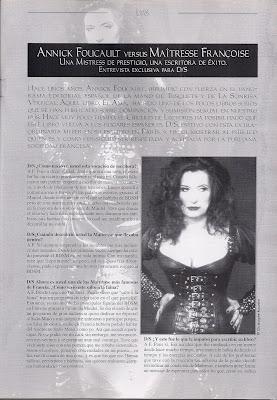 D/s revista de dominación sumisión 1999