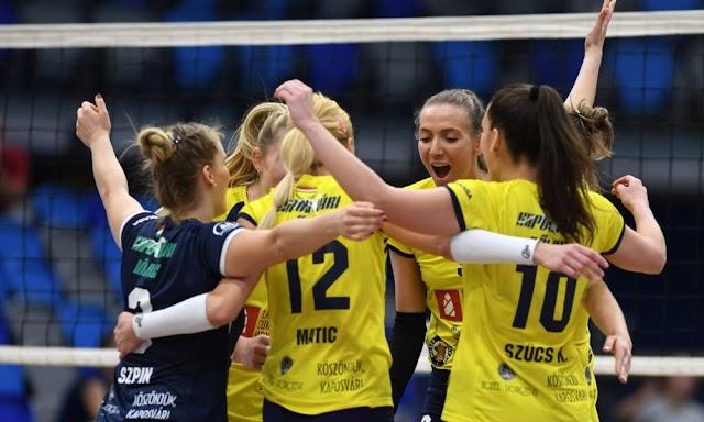 Még egy évre aláírt a Kaposvár női röplabdacsapatának szerb ütője