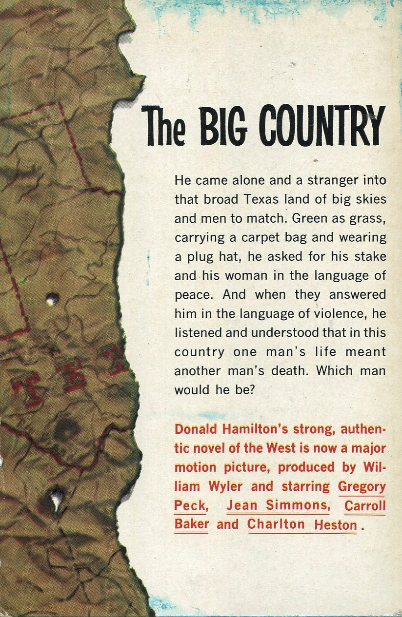California Cities Map Quiz%0A Donald Hamilton  The Big Country  Dell