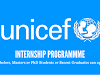 The UNICEF Internship Programme 2020
