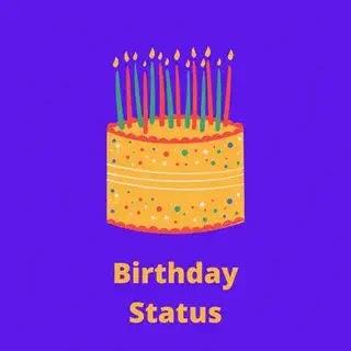 birthday status in hindi