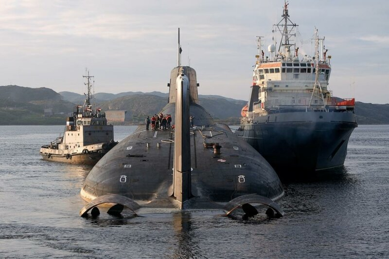 submarino mas grande del mundo