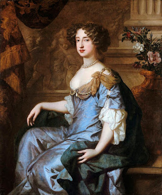Queen Mary painted in 1677 by Peter Lely