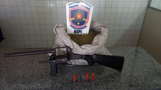 Após apreensão de drogas em Alagoas, polícias se unem e realizam operação em Floresta-PE