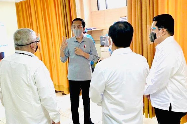Jokowi: Vaksin Corona Diberi ke Seluruh Masyarakat Januari 2021