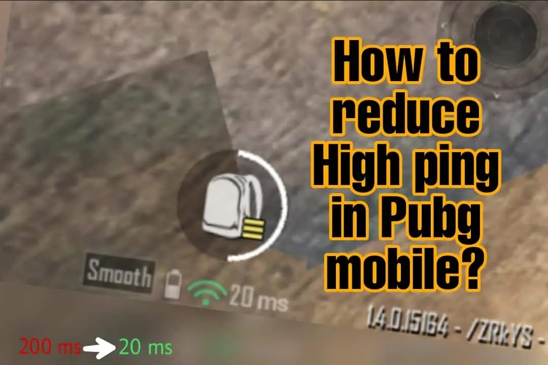 how to reduce ping in PUBG mobile & Battleground's Mobile India?