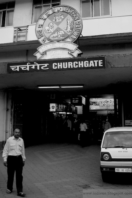 Churchgate Railway Station Mumbaissa