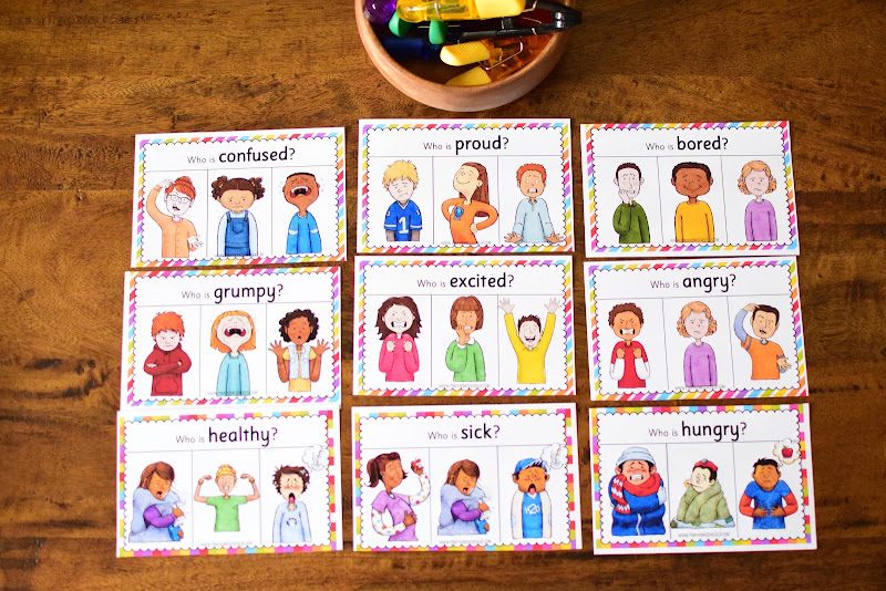 Human Body Preschool Mini Unit: FEELINGS AND EMOTIONS