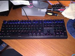 Jamey's New RGB Mechanical Gaming Keyboard