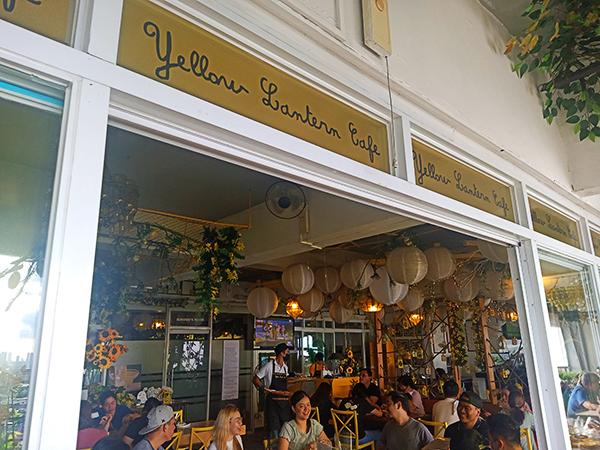 inside yellow lantern cafe 1